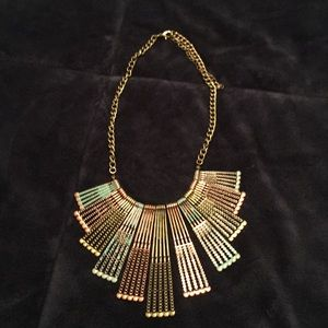 Jewelry - Gorgeous multi metal ethnic necklace